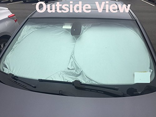 Car Windshield Sun Shade Blocks Uv Rays Sun Visor