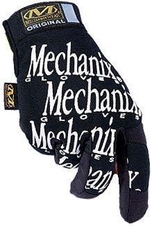 Mechanix Wear MG05012 The Original Work Gloves, Black, XX-Large