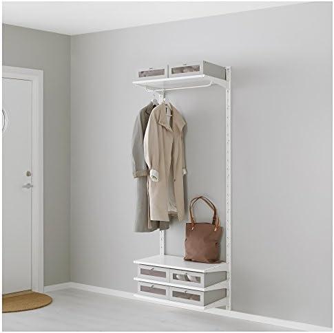 Ikea Algot – parete verticaleripianiasta bianco: Amazon.it