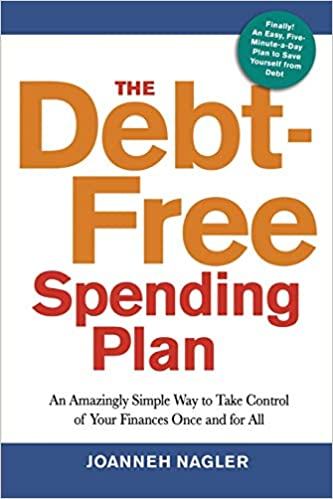 Book cover of Debt Free Spending Plan