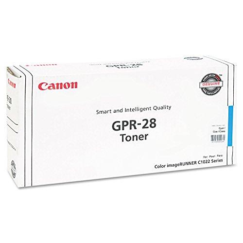 Canon GPR-28 Cyan Toner Cartridge, 1659B004AA