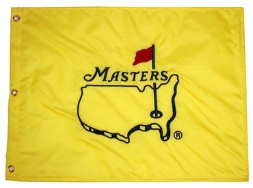 Undated Masters Golf Tournament Pin Flag