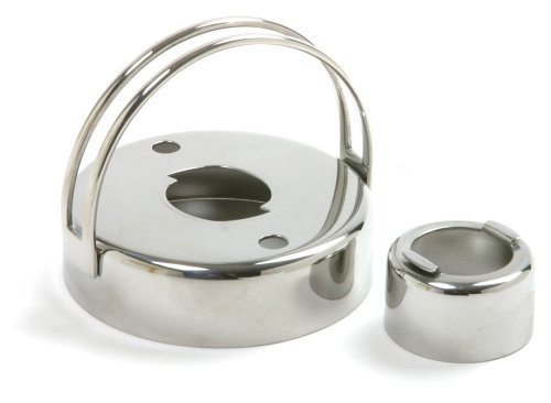 Norpro Stainless Steel Donut/Biscuit/Cookie Cutter with Removable - Stainless Steel Donut