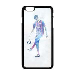Lucky Soccer FC Barcelona Blaugrana Neymar Black Phone Case for Iphone6 plus