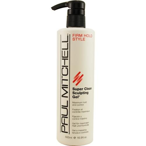 Paul Mitchell Super Clean Sculpting Gel, 16.9-Ounces Bottle