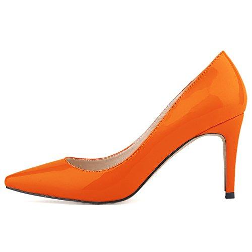 Ni952 Orange 1 Escarpins Orange pour 36 Renly 5 Femme dqXU5wdP