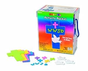 WeGlow International Cross Foam Activity Bucket