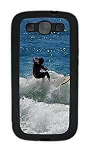 Samsung Galaxy S3 I9300 Case,Samsung Galaxy S3 I9300 Cases - Surf 04 TPU Polycarbonate Hard Case Back Cover for Samsung Galaxy S3 I9300¨CBlack