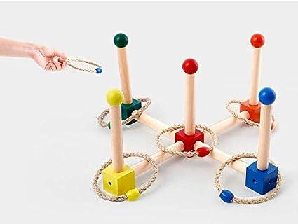 WEIGZ Kinder werfen Ring Spiel Übung Baby Hand Auge