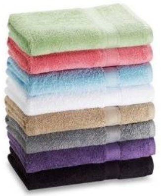 Crystal Towels 7 Pack Bath Extra Absorbent