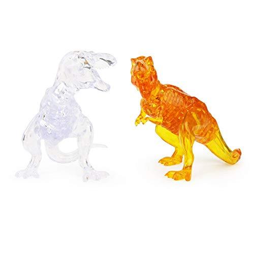 [해외]Little Bado DIY 3D Jigsaw Crystal Dinosaur 3D PuzzleLeaf Plastic Home Decoration Birthday Gift for Children Kids Age 6 7 9 10 11 12 Years Old Adult Crystal Puzzles / Little Bado DIY 3D Jigsaw Crystal Dinosaur 3D PuzzleLeaf Plastic ...