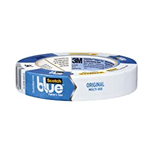 3M Painter's Tape, Multi-Use, .94-Inch by 60-Yard, 6-Roll