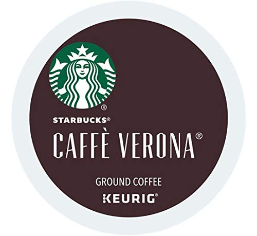 (Starbucks Keurig Coffee K Cups Pods 6/16 / 24/96 Count Capsules Sleeves ALL FLAVORS SEALED Fast Shipping (24 Pods Starbucks - Caffe Verona))