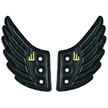 Shwings, Wings for Your Shoes - Black Foil