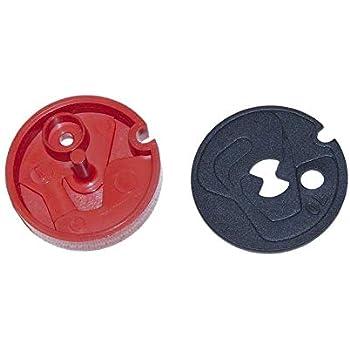 Part Black OEM Kenmore 1148800 Water Softener Flow Plug Genuine ...