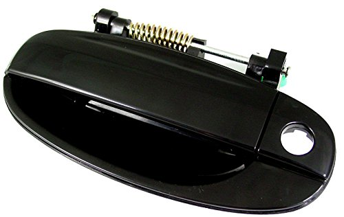 Chevy Aveo5 09 / Chevy Aveo Sedan 04-06 / Chevy AVEO Hatchback 04-08 Outside Door Handle Front LH US Driver Side (Smooth Black)