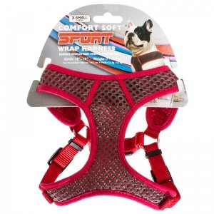 Coastal Pet Small Personalized Sport Wrap Mesh Dog Harness i