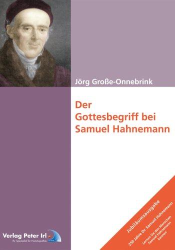 Der Gottesbegriff bei Samuel Hahnemann