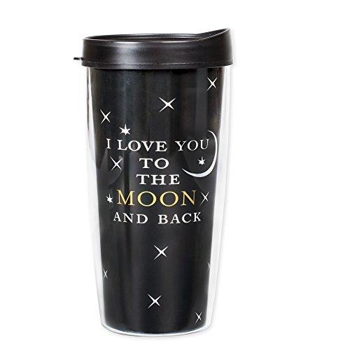 I Love You to the Moon and Back 22 Oz Tumbler Mug with Lid