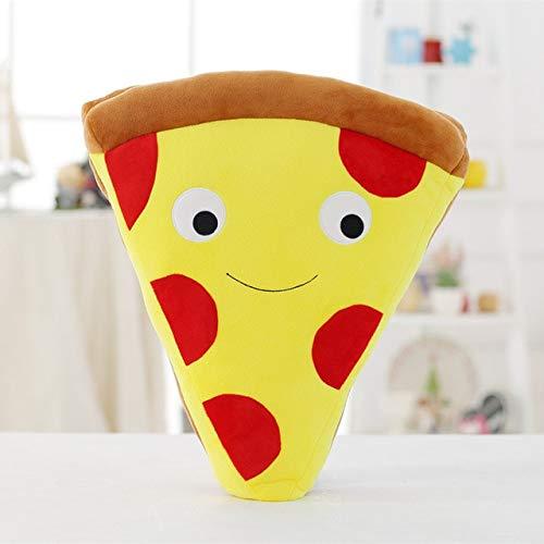XuBa - Cojín de Felpa con diseño de Pizza y Patatas Fritas ...
