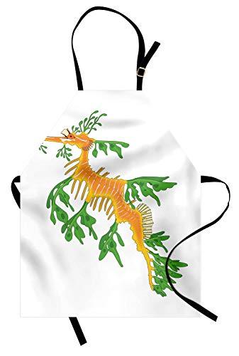 Leafy Sea Dragon Costumes - Lunarable Underwater Apron, Leafy Sea Dragon