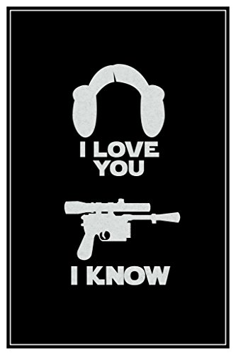 (I Love You. I Know. Hair and Blaster Movie Poster 12x18 inch)
