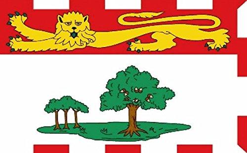 - Prince Edward Island Flag 5ft x 3ft Large - 100% Polyester - Metal Eyelets - Double Stitched