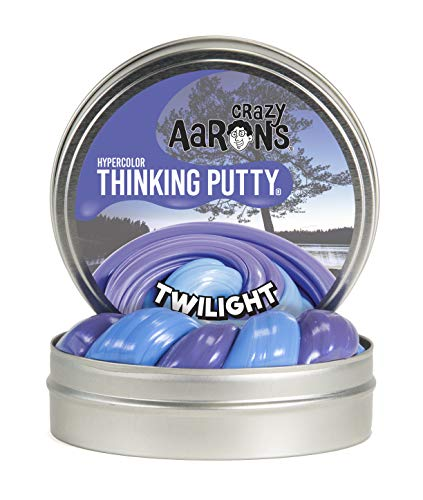 Crazy Aaron's Thinking Putty, 3.2 Ounce, Hypercolor Twilight ()