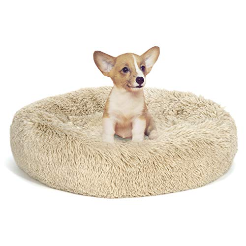 ZENY Pet Bed for Dogs & Cats, Anti-Slip, Machine Washable, Ultra Soft Washable Dog and Cat Cushion Bed