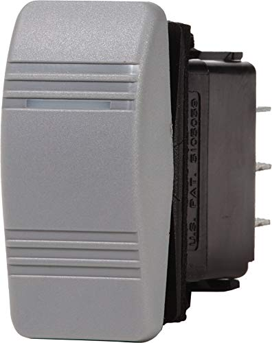 Blue Sea Systems Contura III (ON)-OFF-ON SPDT Switch with Reverse Polarity Protection