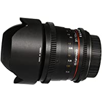 Samyang Cine SYCV10M-C 10mm T3.1 Cine Wide Angle Fixed Lens for Canon EF Cameras