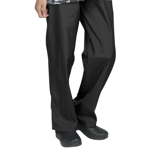 Top Performance Grooming Pants - Comfortable and Stylish Nylon Pants for Professional Pet Groomers - Small, Black (Poochie Pants Dog)