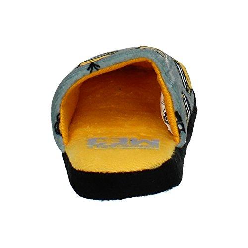 Cerdá 2300002822 Chinelas de Minions Niño Zapatillas CASA GRIS
