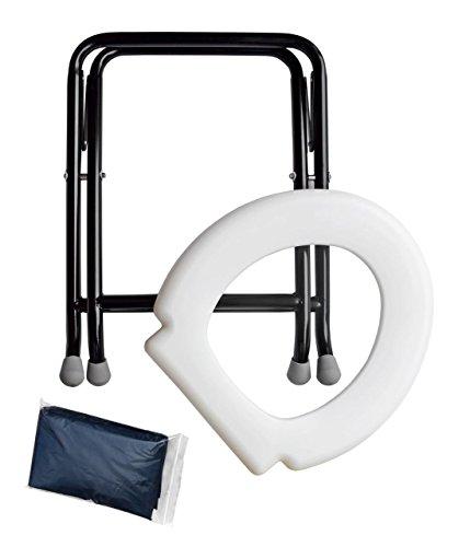 419SUTrQR L YACHTICON Mobile Klapptoilette Falttoilette Campingtoilette Toilette WC Festival Wohnwagen Reise