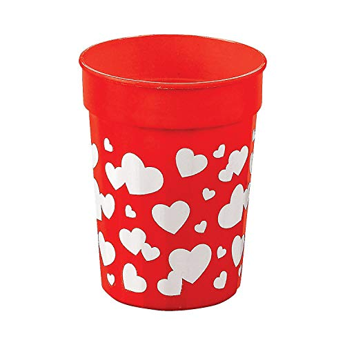 Plastic Valentine Heart Tumblers/VALENTINE'S DAY Party Supplies and Tableware/CUPS ()