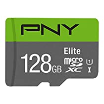 PNY PFUXC1281U1R100-BR20 128GB Micro SD Card (Green)
