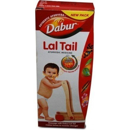 Dabur Lal Tail New Pack Authentic Ayurveda (4 Pack, 200-ML) by ()