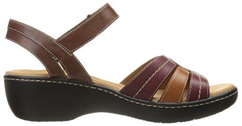 Dress Multi Women's Brown Delana Clarks Varro Sandal zYB7fYxn