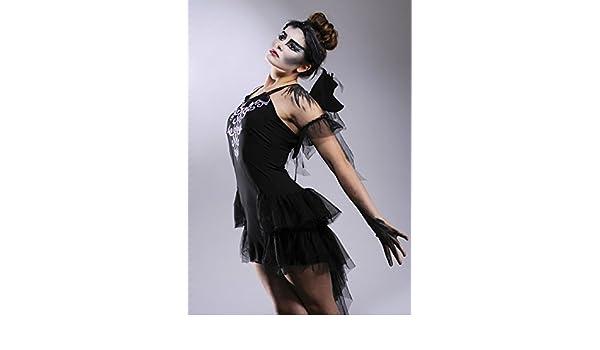 Para mujer gótico cisne negro Halloween disfraz Large (UK 14 – 16 ...