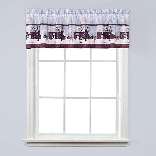 SKL Home by Saturday Knight Ltd. Friendly Beasts Valance, 58 inches x 13 inches, Multicolored