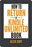 How to Return a Kindle Unlimited Book