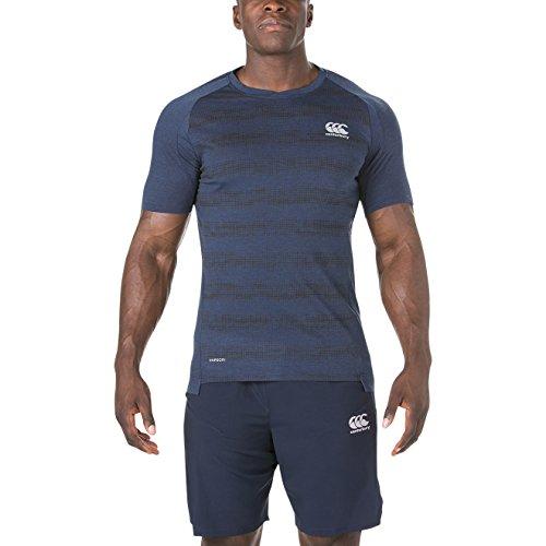 Performance Marino Vapodri Hombre Canterbury Mar Camiseta Cotton Azul 5POUHn