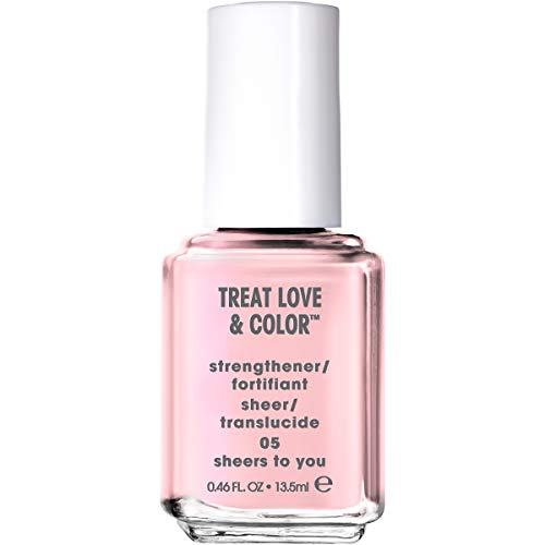 essie Treat Love & Color Nail Polish For Normal to Dry/Brittle Nails, Sheers To You, 0.46 fl. oz.