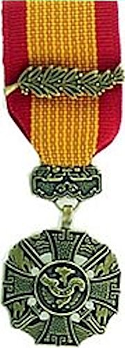 Vietnam Cross of Gallantry With- Palm-MINI MEDAL (Cross Of With Gallantry Vietnam Palm)