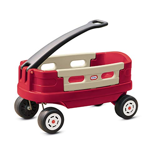 Little Tikes Jr. Red Durable Explorer Wagon