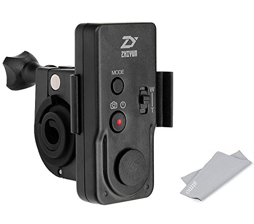 Zhiyun Wireless Remote Control ZW-B02 for Zhiyun Crane, Crane M, Smooth II, Smooth 3, Smooth Q, Rider M Gimbal Stabilizer with Remote Mount, ATMO Accessory