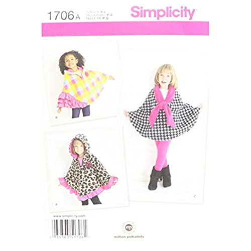 Children Cape Pattern: Amazon.com