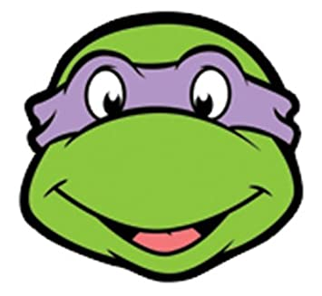 Donatello Teenage Mutant Ninja Turtles Face Mask (máscara ...
