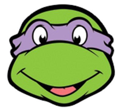 amazon com teenage mutant ninja turtles donatello card face rh amazon com  ninja turtle head clip art