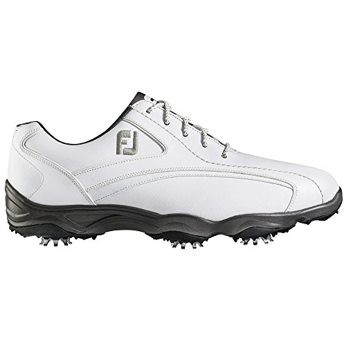 Scarpe Da Golf Mens Footjoy Superlites - Stile Precedente Stagione Bianca